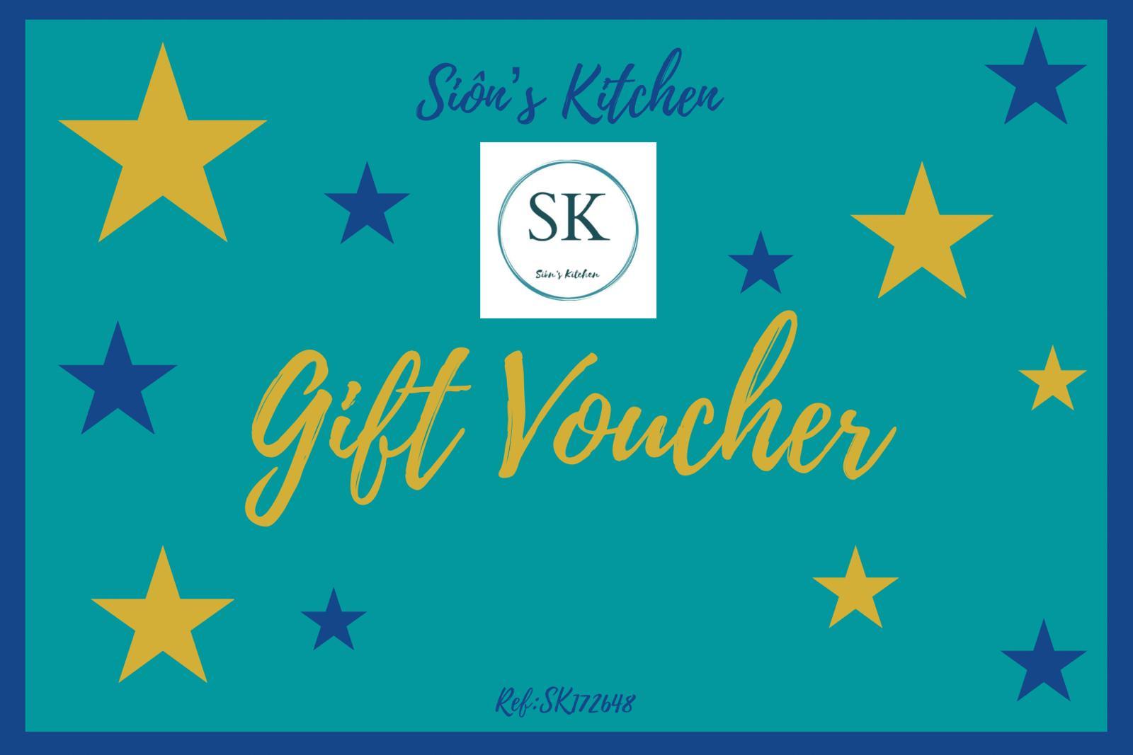 Gift Card Siôn S Kitchen